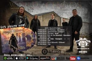 "Worldwide release ""World of Chaos"" June 28th"